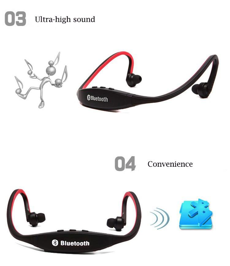 Sport Bluetooth Wireless Headphones