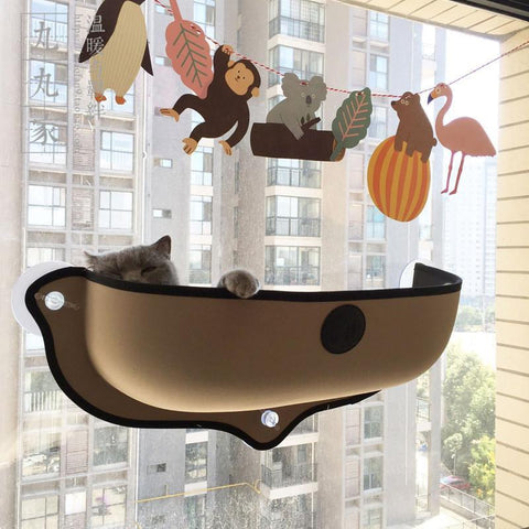 REMOVABLE CAT HAMMOCK WINDOW BED