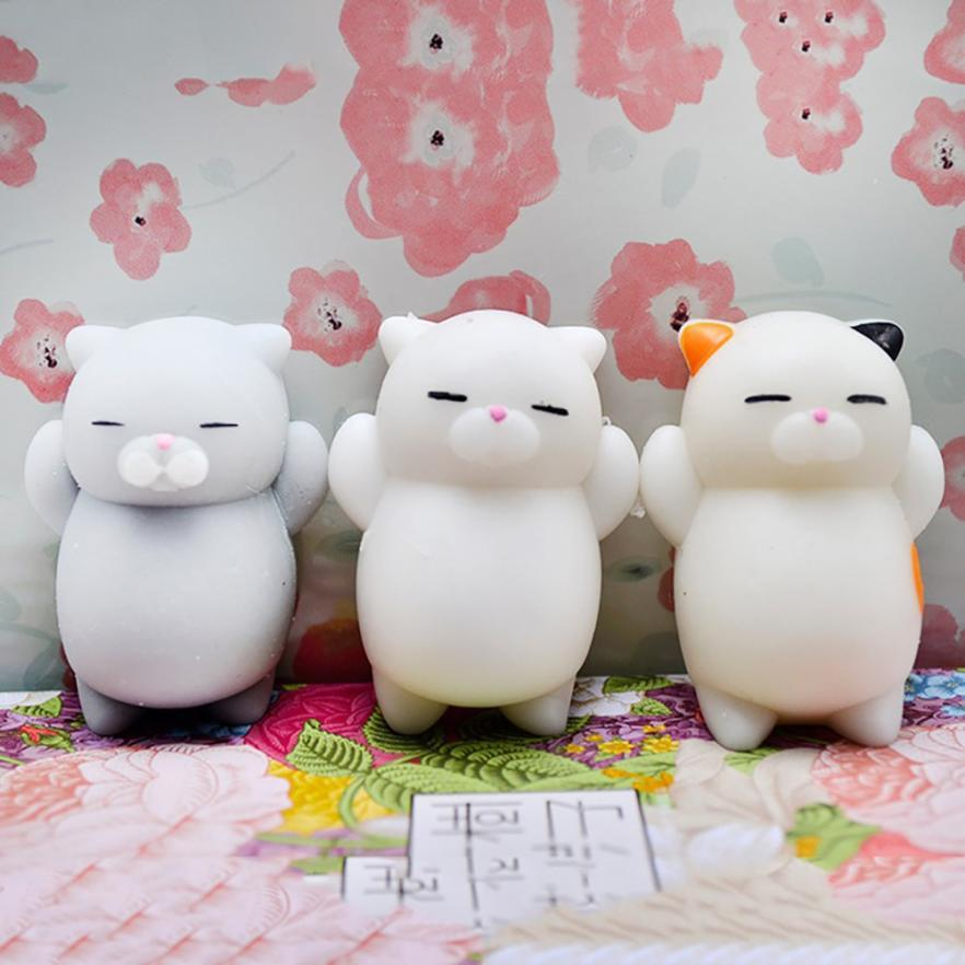 CUTE 3D CAT SQUISHY STRESS RELIEVER