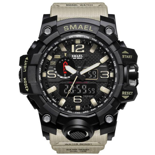 QG78 Warrior Camouflage Military Watch (50m Waterproof)