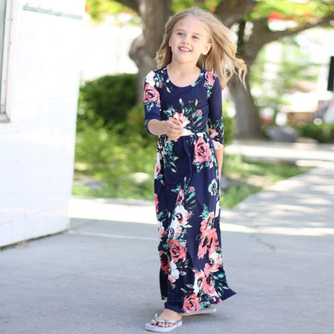 Bohemian Dress for Girls