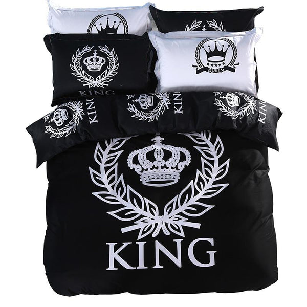 ROYAL KING & QUEEN SOFT BEDDING SET (800 THREAD COUNT)