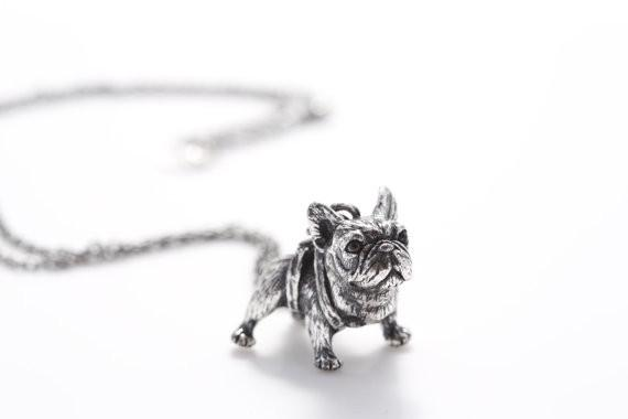 French Bulldog  Pendant Necklaces. FREE GIVEAWAY