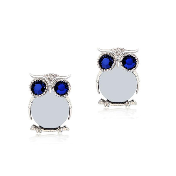 [SPECIAL 48HR PROMO] Classic Owl Crystal Earrings