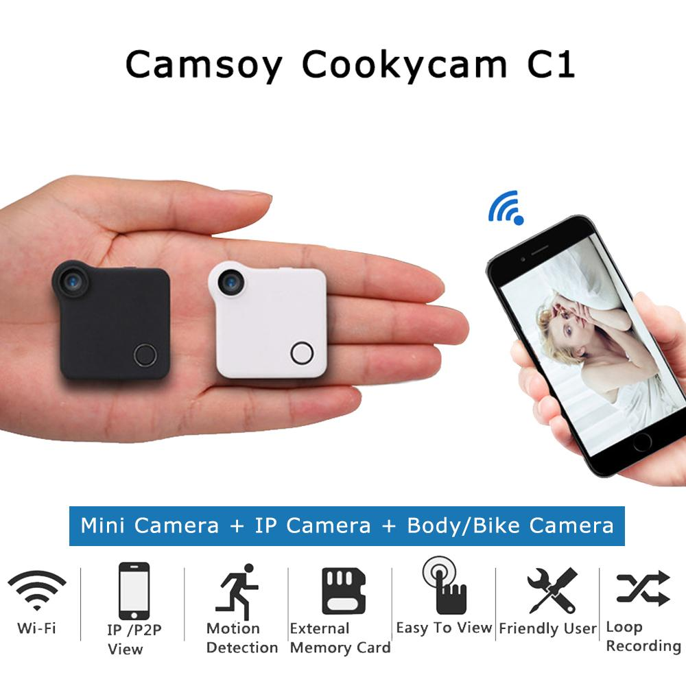 Mini Wireless IP Camera (HD)
