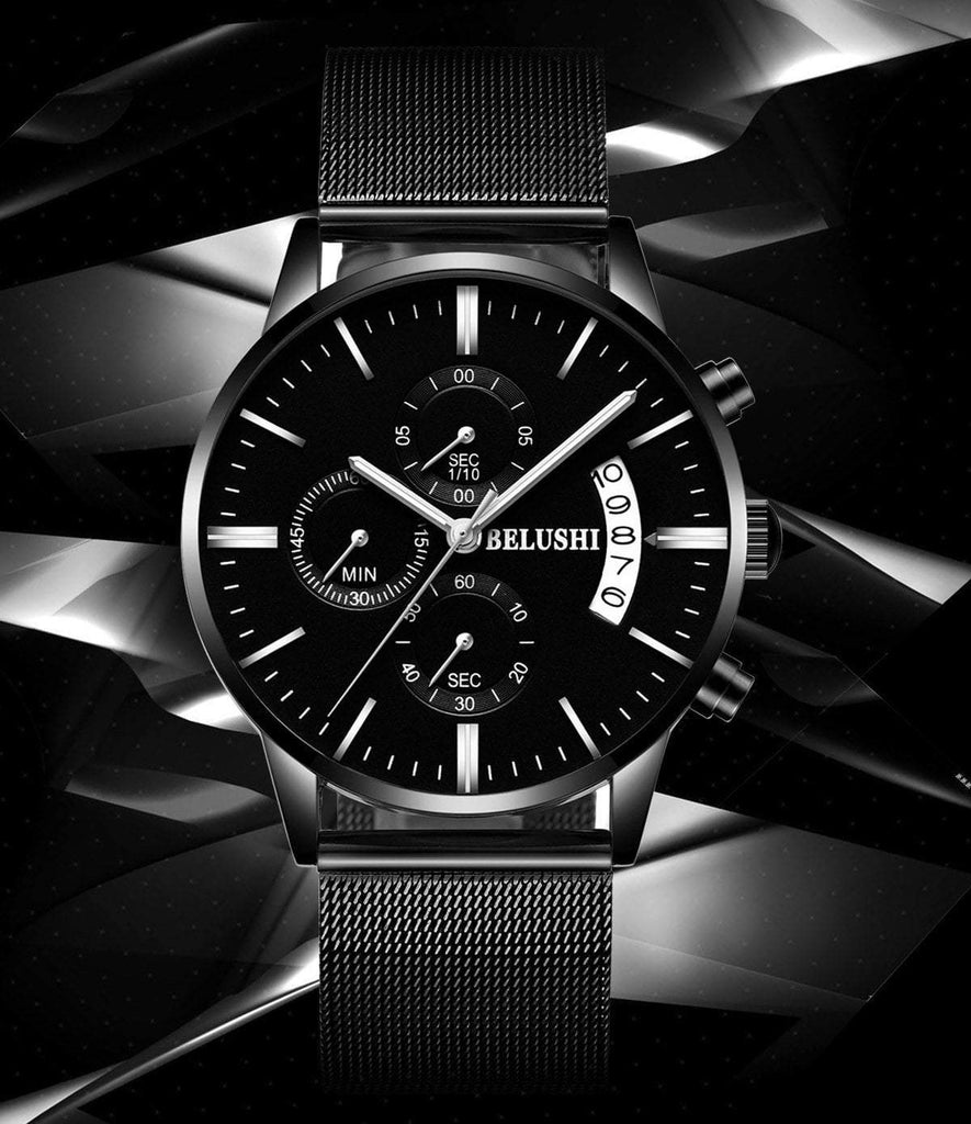 [SPECIAL OFFER] THE BELUSHI - Business Waterproof Quartz Watch