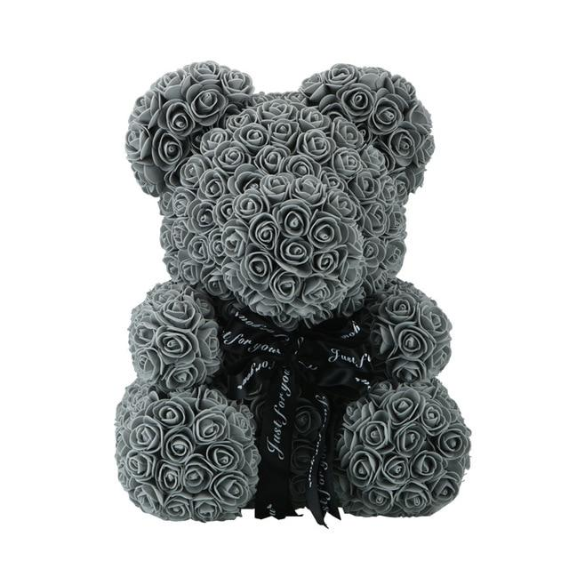 Big Teddy Bear Rose Flower (15.7 INCH TALL)
