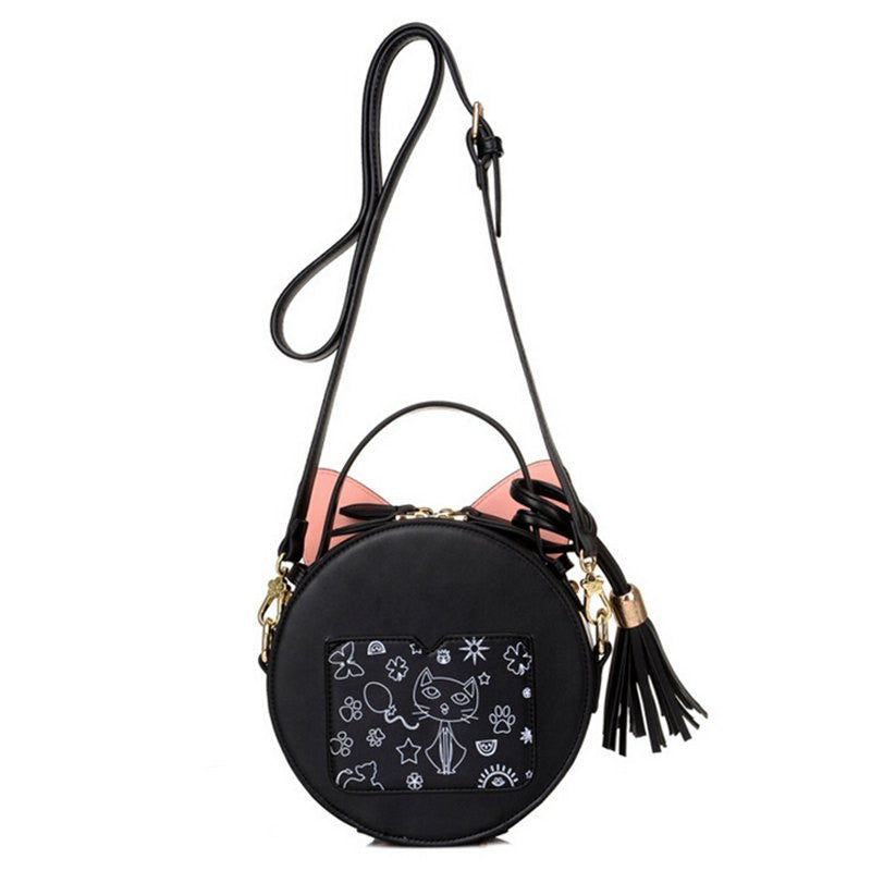 Fashion Cat Shoulder Bags