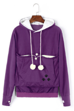 **Mewgaroo** Cat/Dog Hoodie With Kangaroo Pouch.  FREE SHIPPING