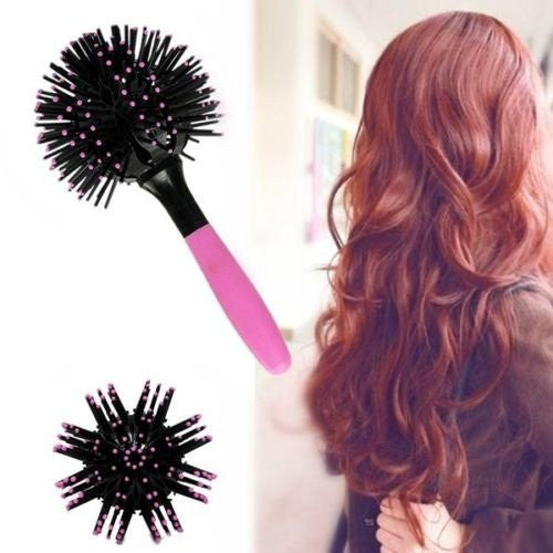 360 Hair Brush Ball Style Blow Drying
