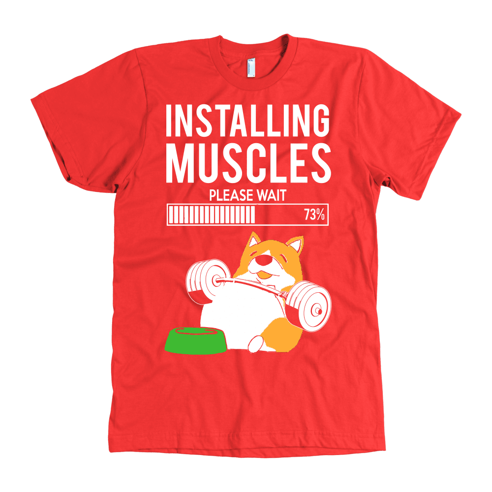 INSTALLING MUSCLES TEES