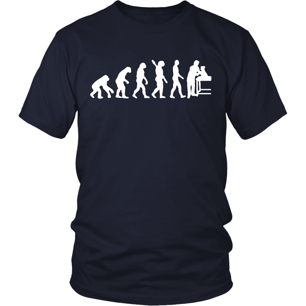 DOG EVOLUTION TEES