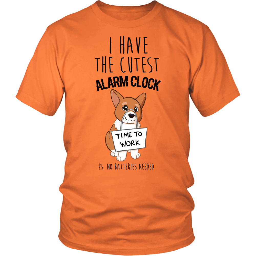 I HAVE THE CUTEST ALARM CLOCK TEE