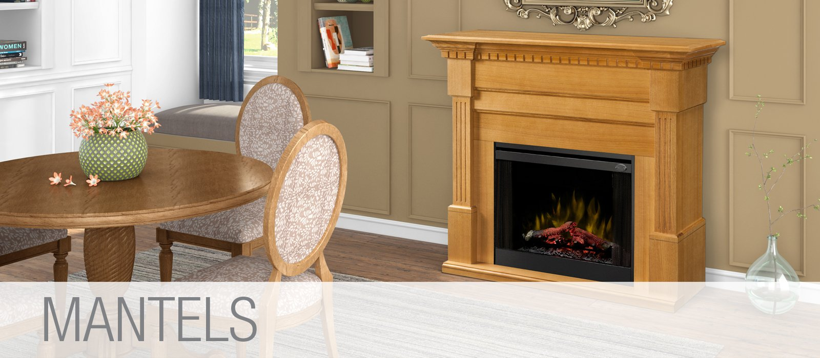 Fireplace & Mantel Packages