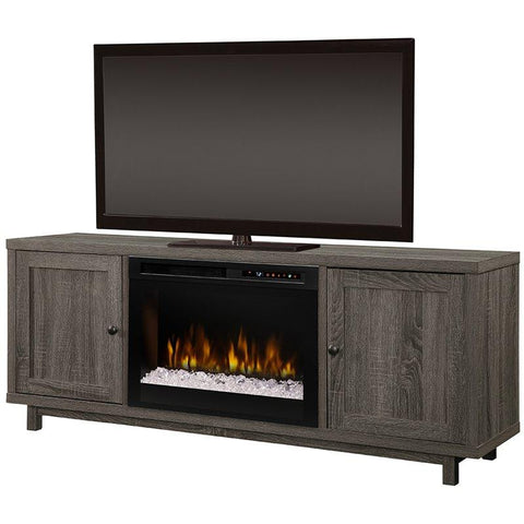Dimplex Jesse Media Console Electric Fireplace With Glass Ember Bed - GDS26G8-1908IM