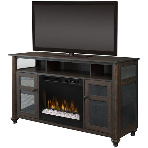 Dimplex Xavier Media Console Electric Fireplace With Glass Ember Bed - GDS23G8-1904GB