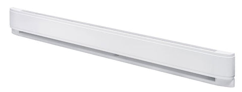 "Dimplex LC Linear Convector Baseboard Heaters 60"", 2500/1875W, 240/208V, White - LC6025W31"