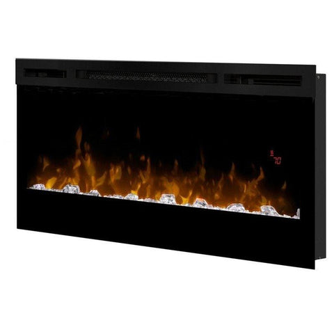 "Dimplex Prism 34"" Electric Fireplace Wall-Mounted With Acrylic Ember Bed - BLF3451"