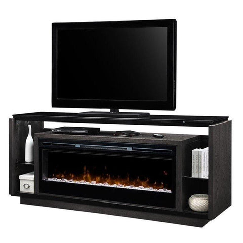 Dimplex David Media Console Electric Fireplace With Acrylic Ember Bed - GDS50G5-1592SM