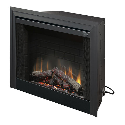 Dimplex 39-Inch Deluxe Built-in Electric Firebox With Logs- BF39DXP