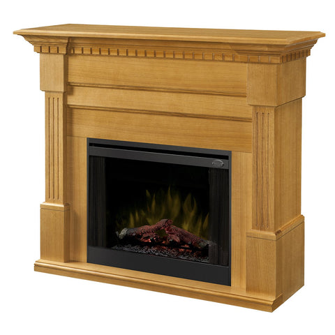 Dimplex Christina 56-Inch BuiltRite Fireplace Mantel - Rift Oak (Mantel Only) - BM3033-1801RO