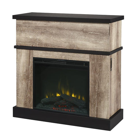 Dimplex Sarah Electric Fireplace Mantel - Distressed Oak - C3P23LJ-2087DO