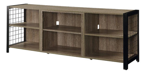 Dimplex Asher 65-Inch TV Media Console - Tudor Oak - DM23-1905TU