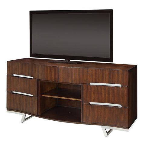 Dimplex Valentina 70-Inch TV Media Console - Burnished Cherry - DM2526-1826BC