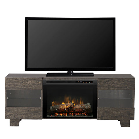 Dimplex Max Media Console Electric Fireplace With Logs - GDS25L8-1651EB