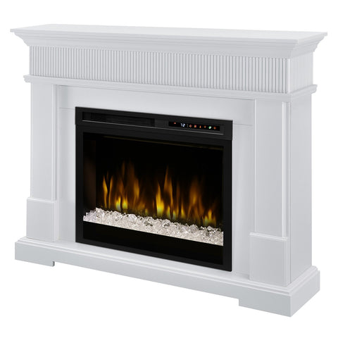 Dimplex Jean Mantel Electric Fireplace with Acrylic Ember Bed - GDS28G8-1802W