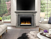 Dimplex Royce Mantel Electric Fireplace with Acrylic Ice Embers - Smoke Stack - GDS28G8-1924SK