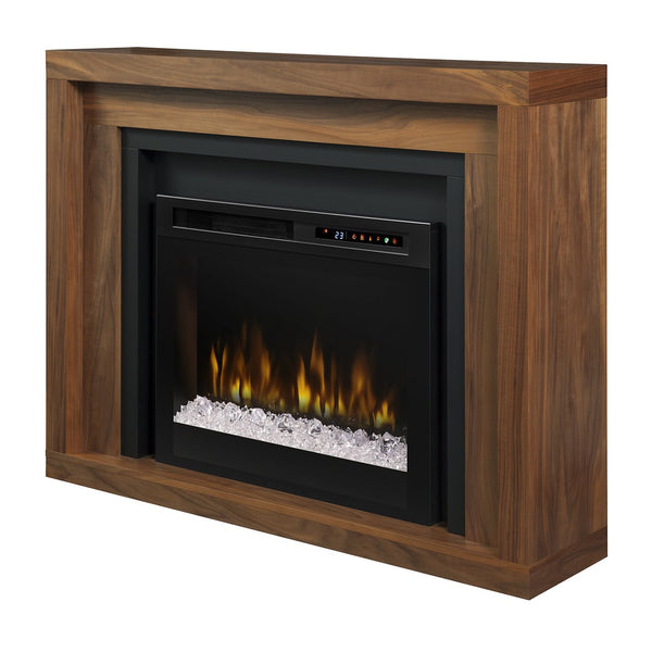 Dimplex Anthony 49-Inch Mantel Electric Fireplace - Walnut - Acrylic Ice Embers - GDS28G8-1942WL