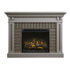 Dimplex Madison 58-Inch Mantel Electric Fireplace - Stone Grey - Realogs - GDS28L8-1968SG