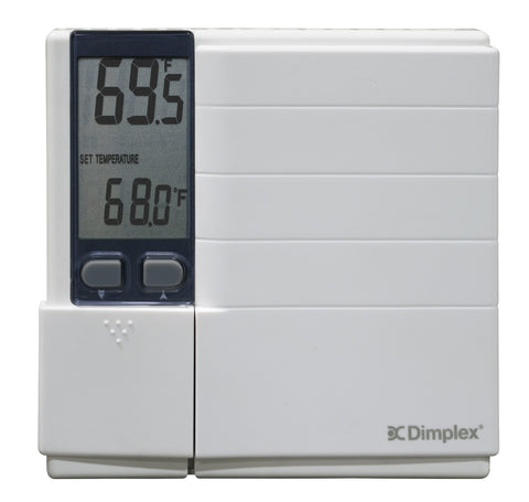 Dimplex Non Programmable Thermostat, 3600W, White - HTC521W
