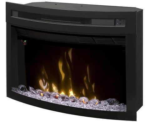 Dimplex 25-Inch Multi-Fire XD®Electric Firebox With Curved Glass - PF2325CG