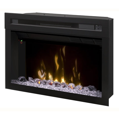 Dimplex 25-Inch Multi-Fire XD?« Electric Firebox With Glass Ember Rocks - PF2325HG