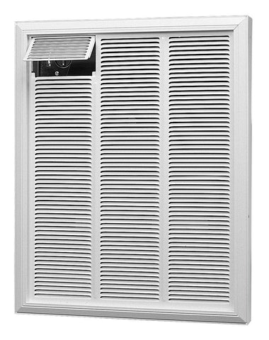 Dimplex Commercial Fan-Forced Heater 240V, 3000/2250W, White - RFI830D31W