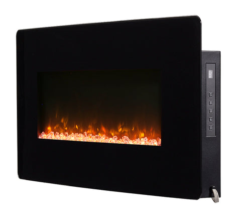 "Dimplex Winslow 36"" Wall Mount Electric Fireplace - SWM3520"