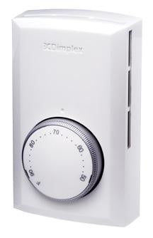 Dimplex Line Voltage Thermostat White - TS321W