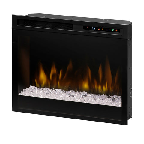 "Dimplex Multi-Fire XHDÔäó 23"" Plug-in Electric Firebox with Acrylic Ice Embers - XHD23G"