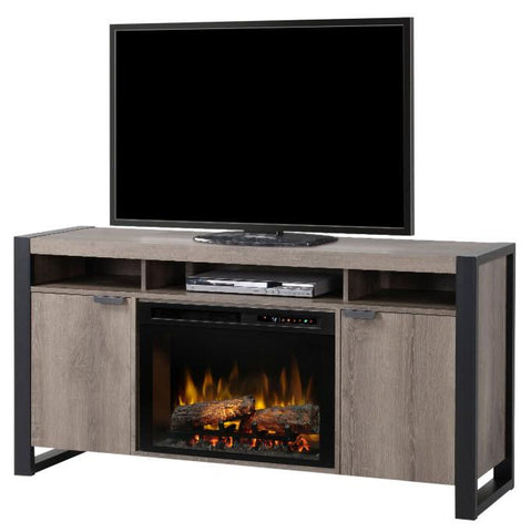 Dimplex Pierre 60-Inch TV Media Console Electric Fireplace - Logs - GDS25L8-1571ST