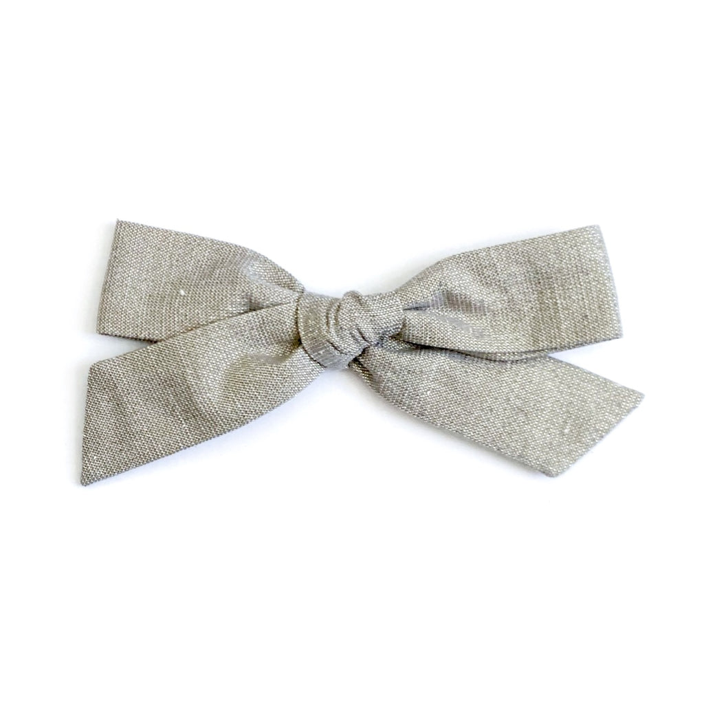 Champagne Tinsel - Oversized Knot