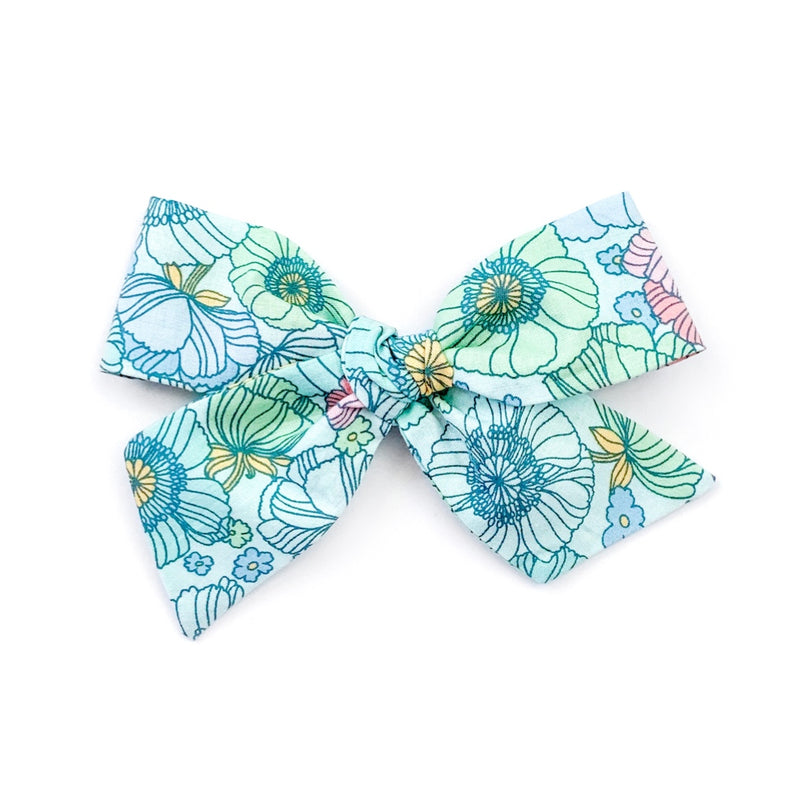 Watercolor Floral - Oversized Knot