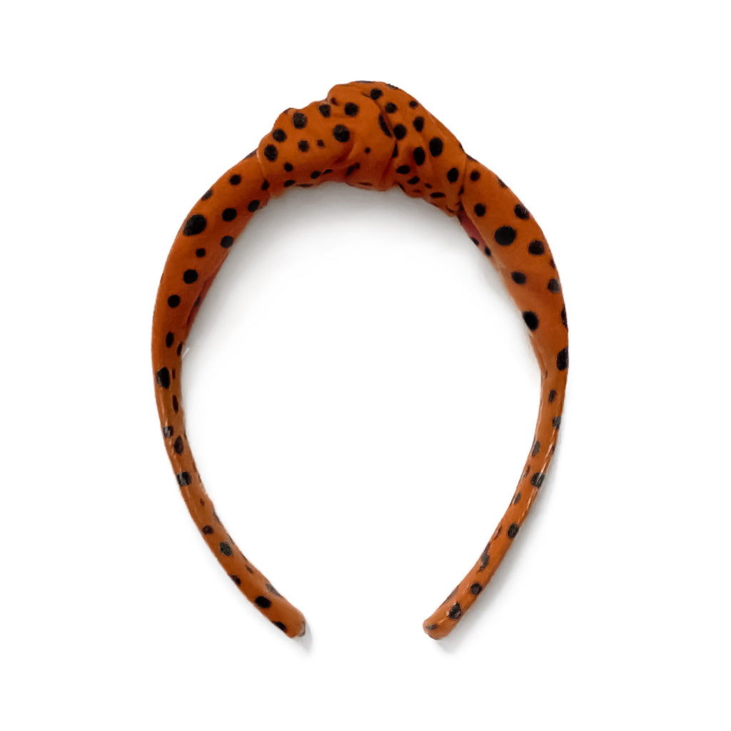 Spice Dot - Knot Headband