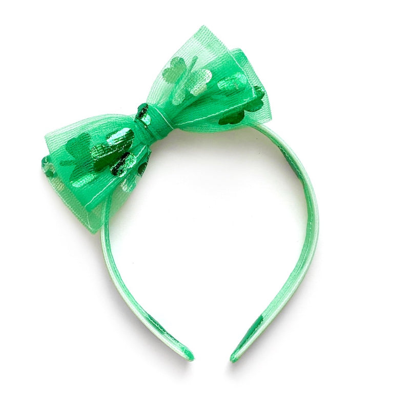 Shamrock Tulle - Big Girl Headband