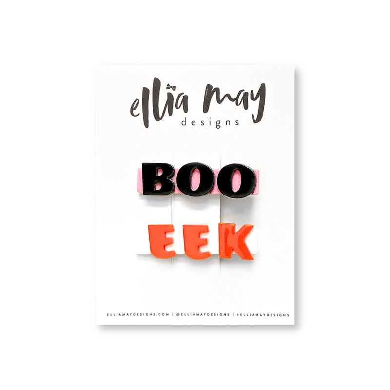 Boo & Eek - Bar Clip Set
