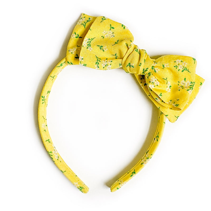 Daffodil - Big Girl Headband