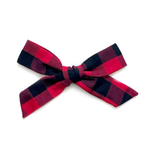 Buffalo Plaid - Oversized Knot