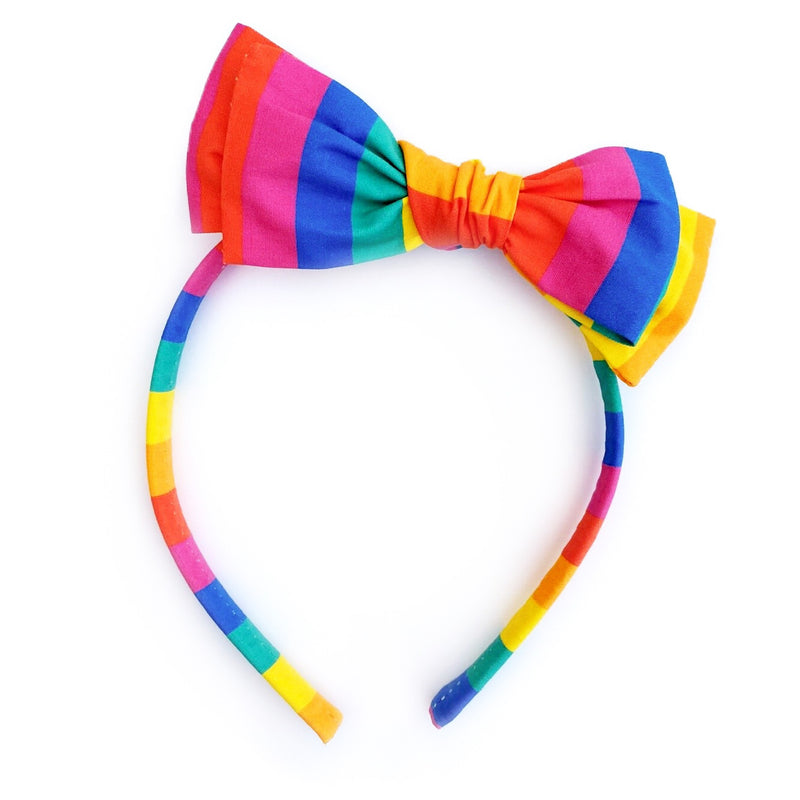 Rainbow Stripe - Big Girl Headband