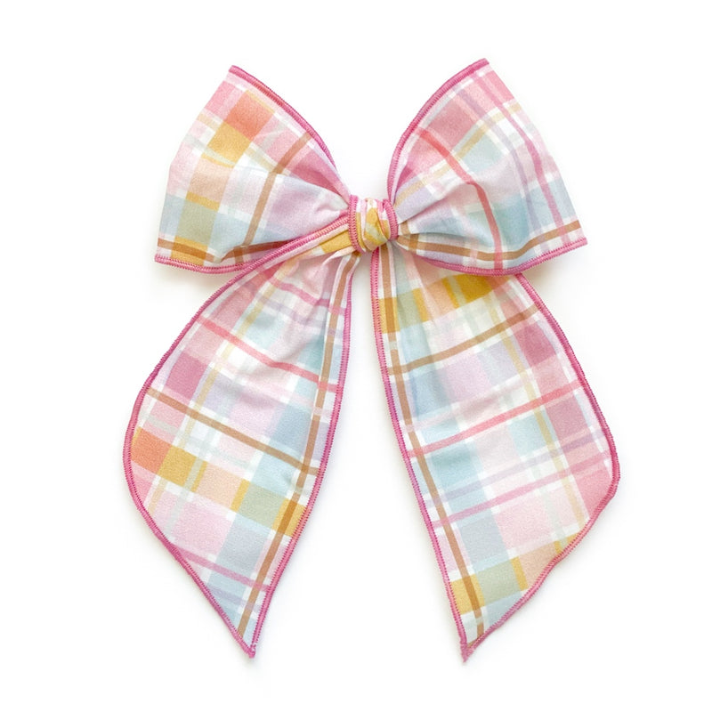 Easter Basket Plaid - Oversized Fairytale
